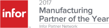Infor Manufacturing partner of the Year 2017